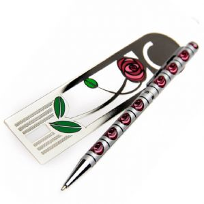 Rennie Mackintosh Pen & Bookmark Set (1)